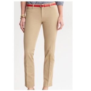 Banana Republic - Sloan Pants - Kahki - Size 4